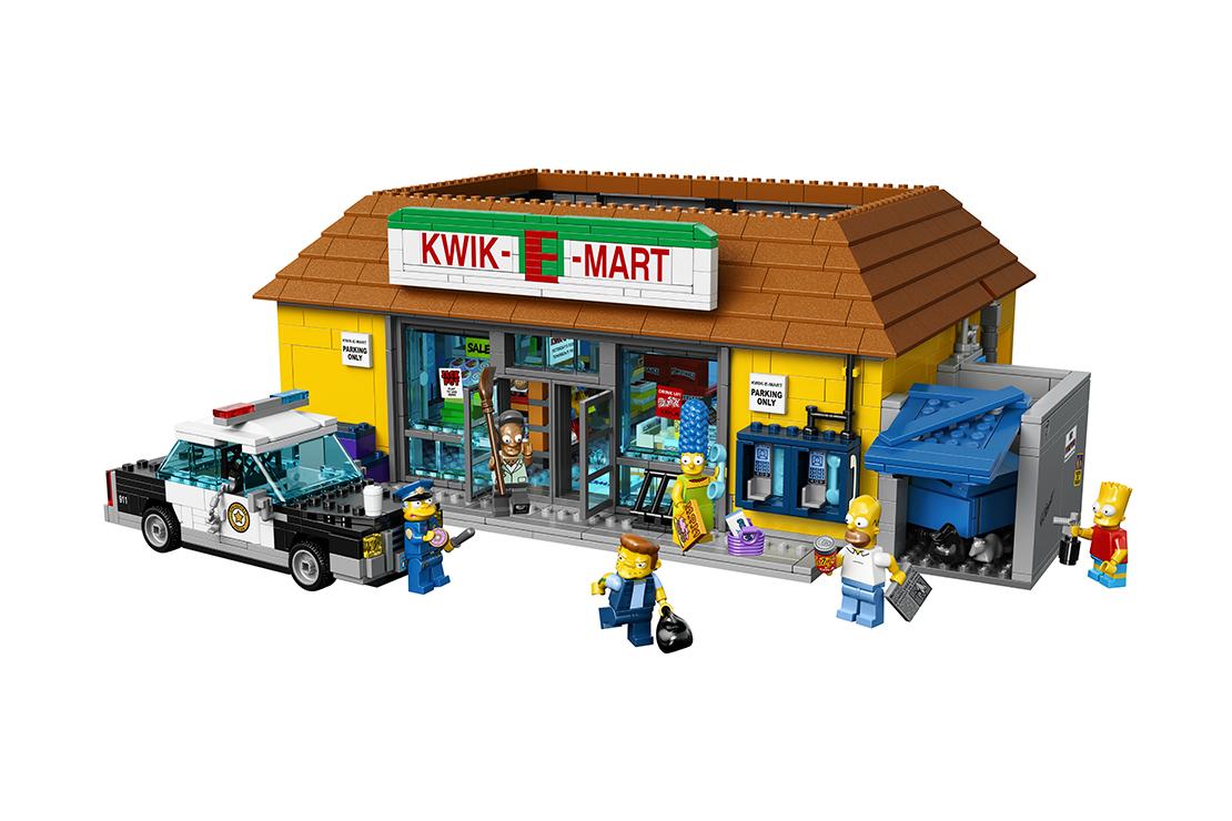 LEGO to Launch 'The Simpsons' Kwik-E-Mart Set