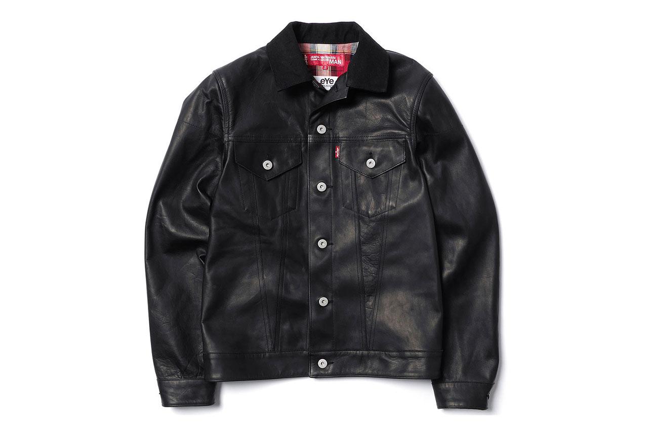 eYe x Levi's® Horse Leather Jacket & Horse Leather Cotton Denim Pants