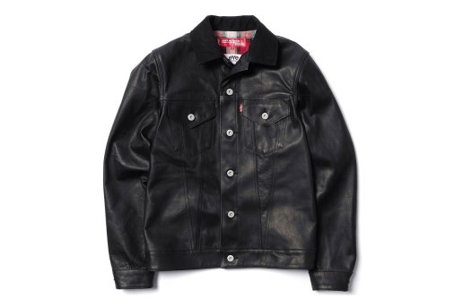 eYe x Levi's® Horse Leather Jacket & Horse Leather Cotton Denim Pants