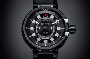 Louis Vuitton Tambour éVolution in Black