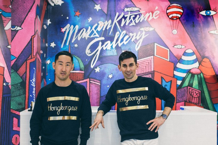 Masaya and Gildas on Working With André and the Opening of Maison Kitsuné Gallery in Hong Kong