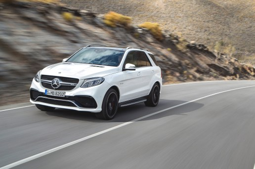 Mercedes-Benz Officially Unveils the GLE550e