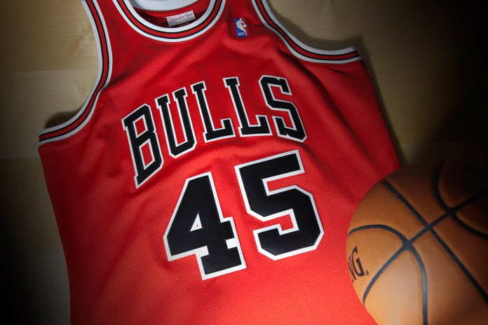 Mitchell & Ness Re-Release Michael Jordan's 1995 Comeback Jersey