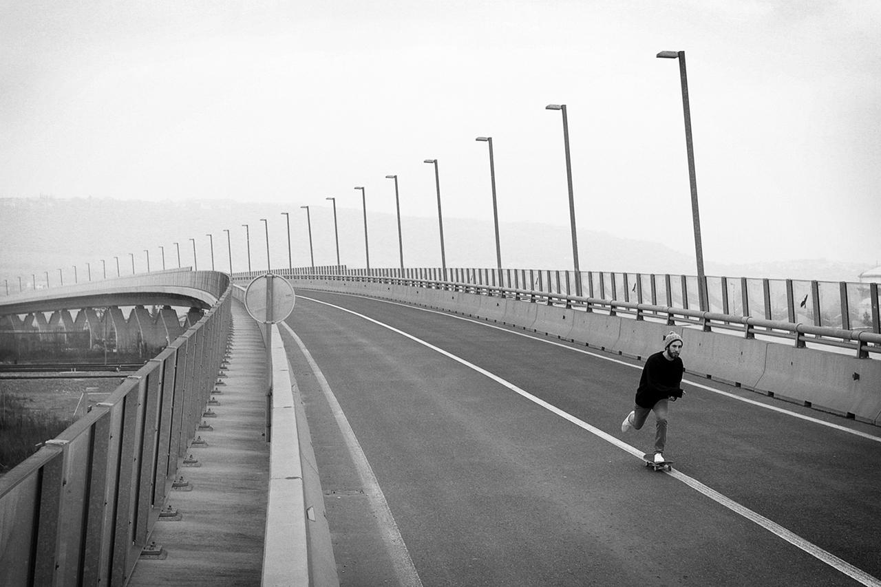 Monochrome Skateboard Photographs by Rob Dragan
