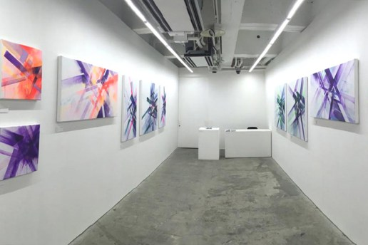 "Nawer ""Colors in Shapesland"" Exhibition @ Hidari Zingaro Gallery"