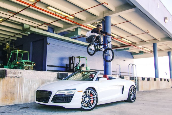 Nigel Sylvester Cruises Through Sunny Miami with Sony's Action Cam