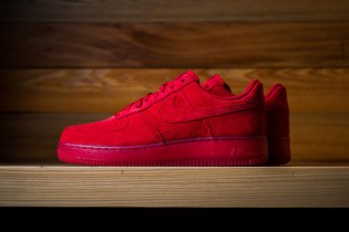 "Nike Air Force 1 ""Gym Red"""