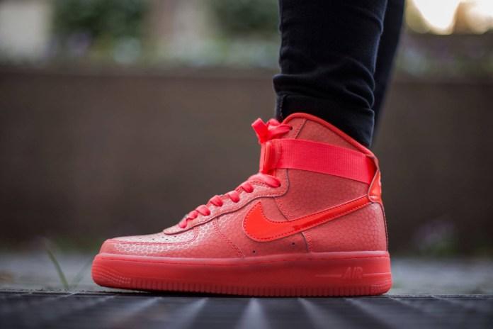 """Nike Air Force 1 High Premium """"Hot Lava"""""""