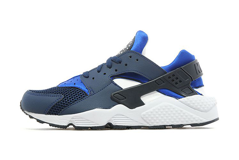 Air Huarache Black And Blue