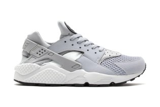 Nike Air Huarache Wolf Grey/Pure Platinum-Black-White