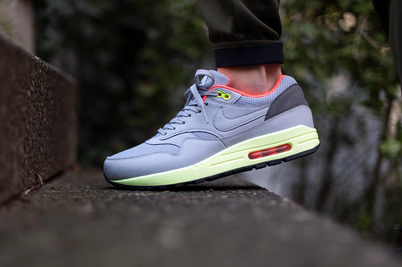 Nike Air Max 1 FB Wolf Grey/Liquid Lime