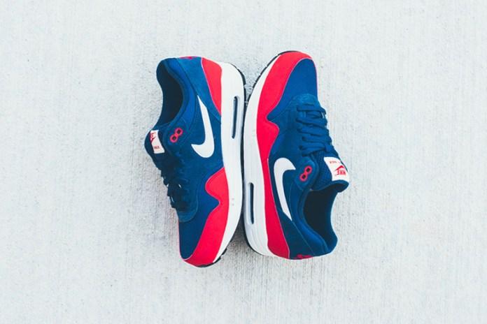 Nike Air Max 1 Navy/Red