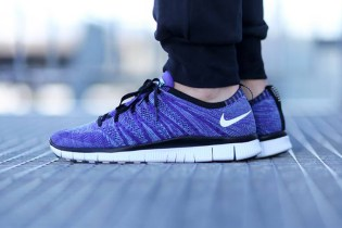 "Nike Free Flyknit NSW ""Court Purple"""