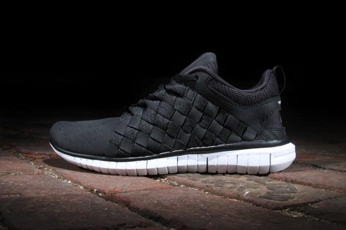 Nike Free OG '14 Woven Black/White-Cool Grey