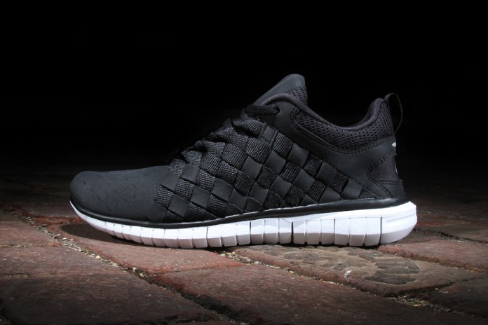 Nike Free OG '14 Woven Black/White-Cool Grey