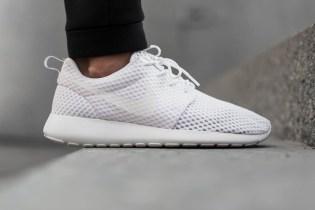 Nike Roshe Run Breeze White/Wolf Grey