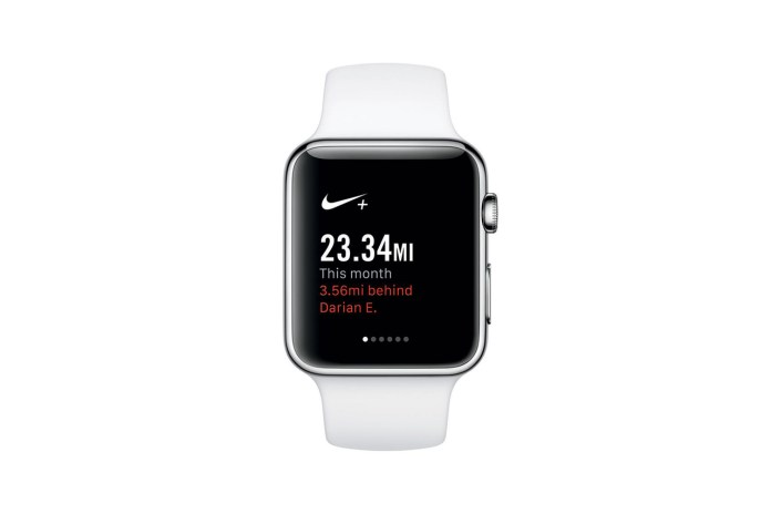 Nike+ Running Launches Apple Watch App