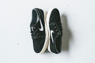 "Nike SB Zoom Stefan Janoski ""Black & Gold Wingtip"""