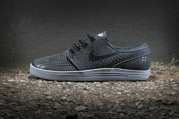 Nike SB Lunar Stefan Janoski Anthracite/Wolf Grey-Black