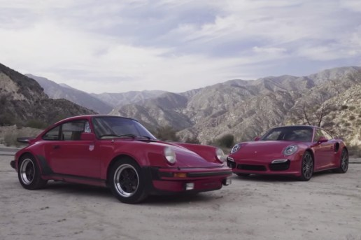 Old and New Porsche 911, Driven by Magnus Walker