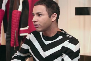 Olivier Rousteing Speaks on Taking Over as Balmain Creative Director at 25, the Digital Age, and More With BoF