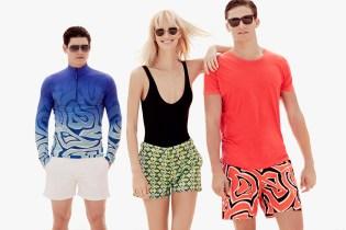 Orlebar Brown x Emilio Pucci 2015 Spring Lookbook