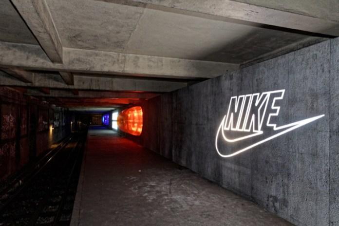 Paris Metro Station Celebrates Air Max Day