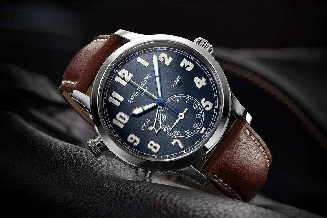 Patek Philippe Introduces the 5524G Calatrava Pilot Travel Time