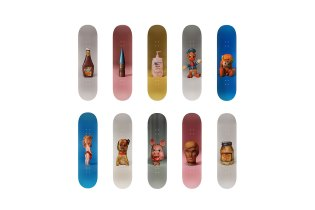 Paul McCarthy Creates Eleven Skateboard Decks for Charity