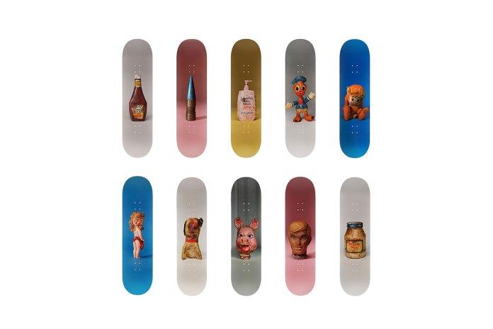 Paul McCarthy Creates Eleven Skateboard Decks for Charity