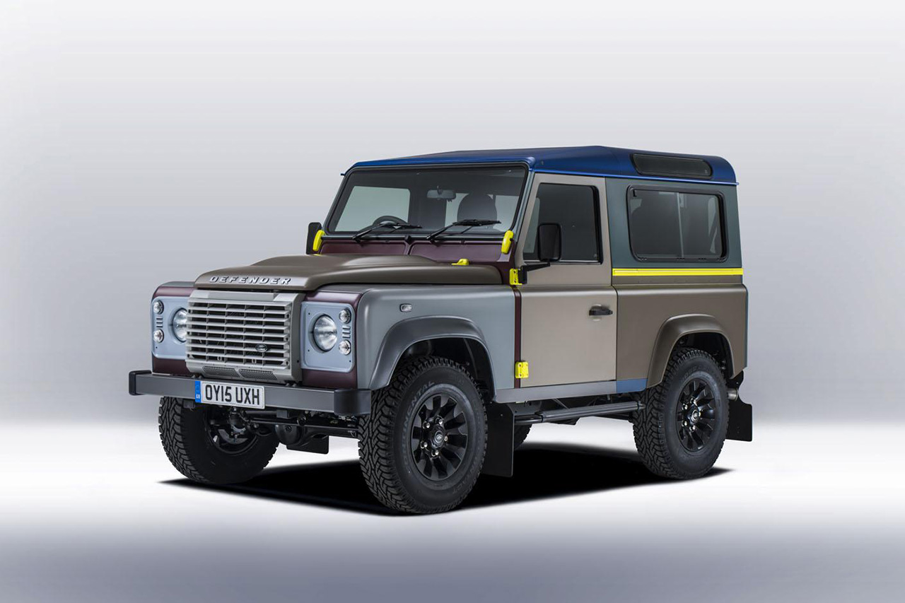 Paul Smith Collaborates With Land Rover on a One-Off Defender