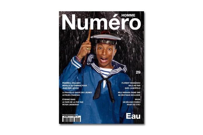 Pharrell for 'Numéro' Magazine by Jean-Paul Goude
