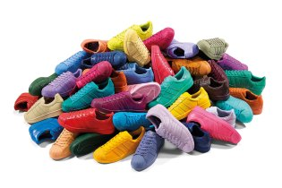 """Pharrell Williams x adidas Originals """"Supercolor"""" Collection Set to Release in March with 50 Colorways"""