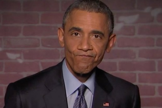 President Obama Reads Mean Tweets About Himself on 'Jimmy Kimmel Live!'