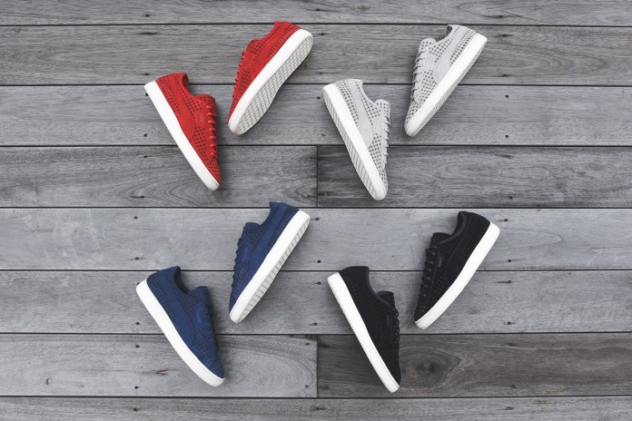 "PUMA Suede Courtside ""Perf"" Pack"