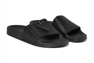 Raf Simons x adidas Adilette Rubber Pool Slides