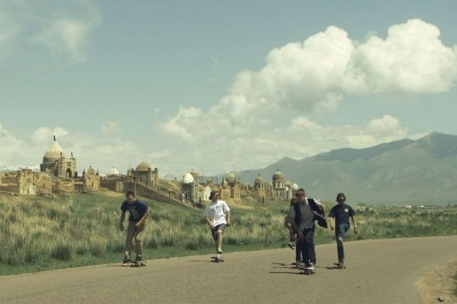 Red Bull Team Skates Kyrgyzstan