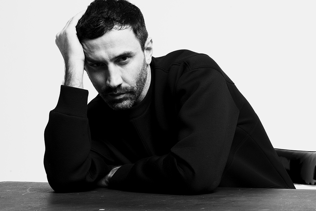 Riccardo Tisci Reflects on Menswear Career, Androgyny and His Instagram Followers with WWD