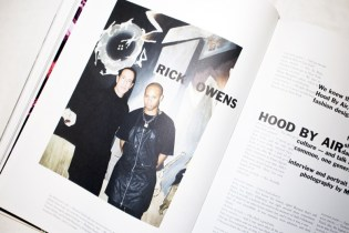 Ricks Owens and Shayne Oliver Sit Down with 'Purple Magazine'