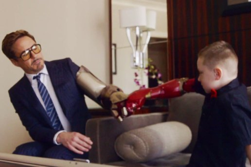 Robert Downey Jr. Delivers 3D-Printed Iron Man Arm to Young Fan