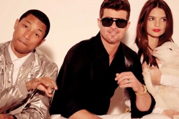 """Robin Thicke and Pharrell Ordered to Pay $7.3 Million USD for Plagiarizing """"Blurred Lines"""""""
