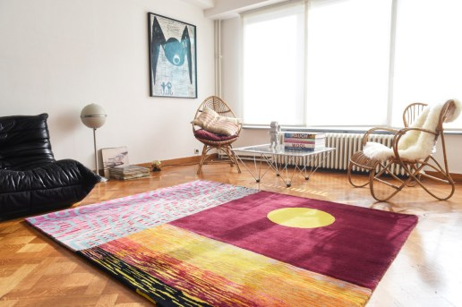 "Sam Friedman x Case Studyo ""Happy Place"" Handwoven Rug"
