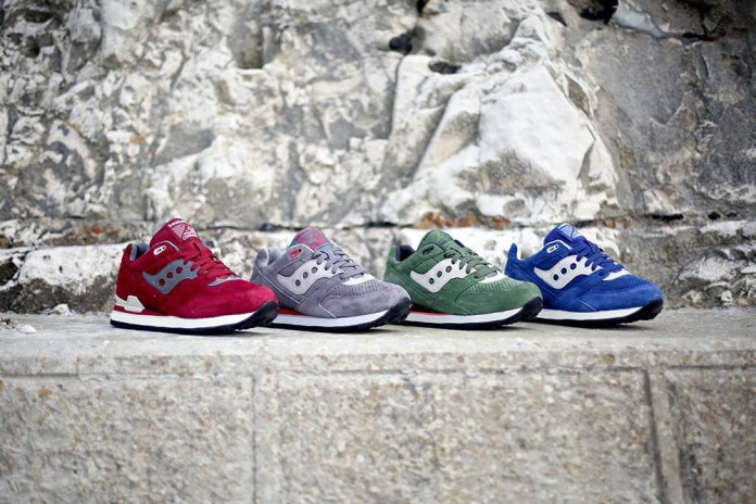 Saucony Originals Courageous Premium Pack