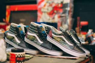 "SBTG x Kadir Warriors x Vans ""Feline Fury"" Customs"