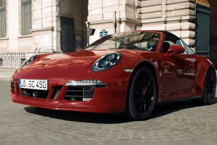 Scott Schuman Meets the New Porsche 911 Targa 4 GTS