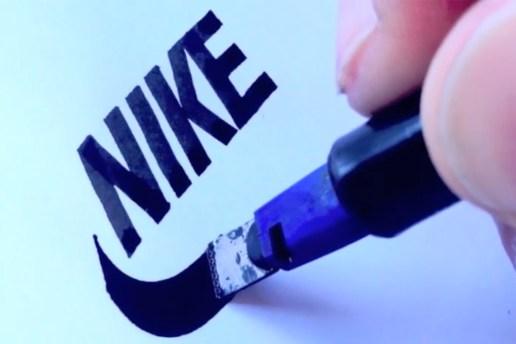 Sebastian Lester Recreates Iconic Logos by Hand