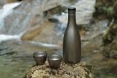 Snow Peak Titanium Sake Bottle