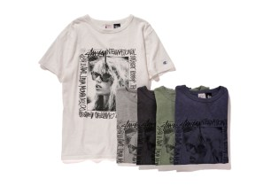 """Stussy x Champion Japan 2015 Spring/Summer """"Rochester"""" Collection"""