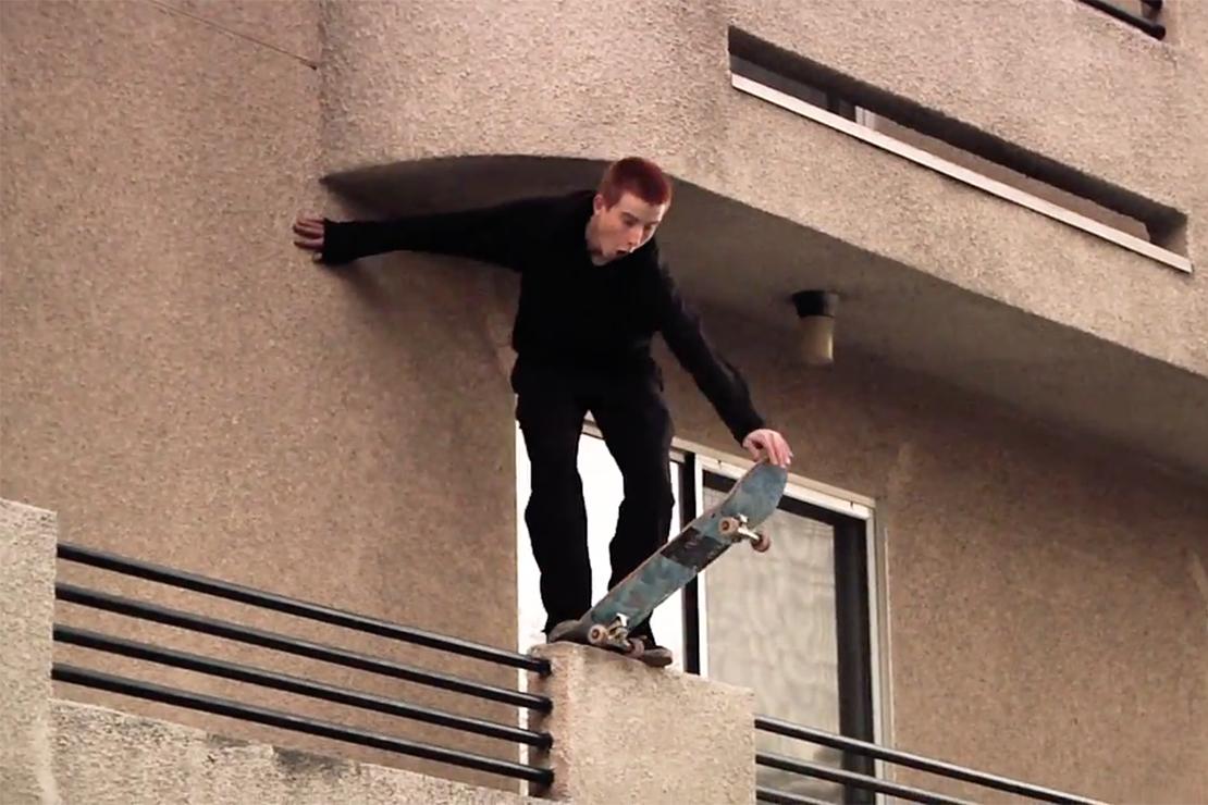 """Supreme 2015 Spring/Summer """"the red devil."""" Skate Video by William Strobeck"""