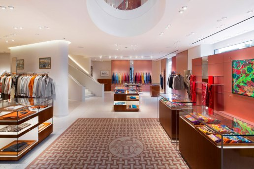Take a Look Inside Hermès' Refurbished London Flagship